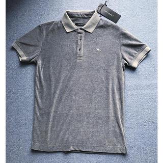 ウノピゥウノウグァーレトレ(1piu1uguale3)の新品2.8万タグ有 1piu1uguale3 ベロアポロ 6 akm junha(ポロシャツ)