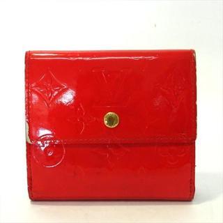 ルイヴィトン(LOUIS VUITTON)のルイヴィトン ヴィトン 財布 Wホック財布 ヴェルニ ルージュ M91169 (財布)