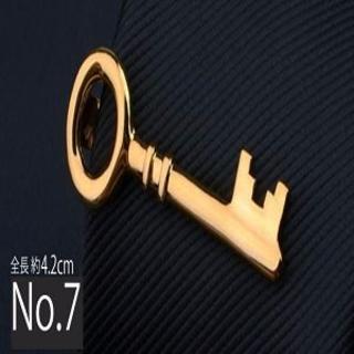 ネクタイピン◇タイピン◇個性的◇シルバー&ゴールドカラー 面白い(ネクタイピン)