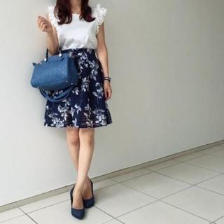 しまむら - 【新品未使用】花柄スカート