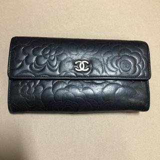 シャネル(CHANEL)のCHANEL カメリア 長財布(財布)
