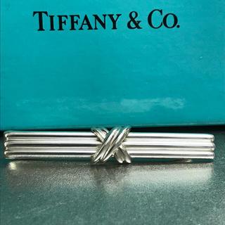 ティファニー(Tiffany & Co.)のティファニー シグネイチャー  ネクタイピン タイピン   タイバー(ネクタイピン)