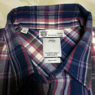 ヴィスヴィム(VISVIM)のビスビム 正規店購入 ネルシャツ(シャツ)