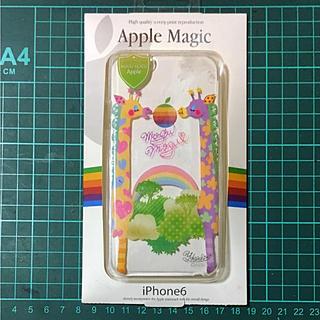 アップル(Apple)のアップル純正iPhone6専用ケース。もぐもぐアップル。(iPhoneケース)