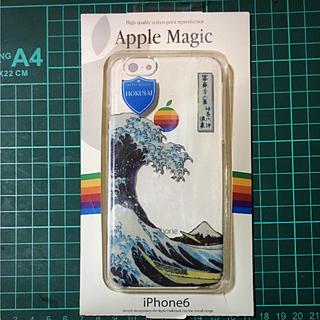アップル(Apple)のアップル純正iPhone6専用ケース。HOKUSAI(iPhoneケース)