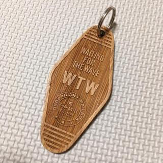ダブルティー(WTW)の完売商品 wtw タグ キーホルダー(キーホルダー)