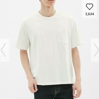 GU - 【美品】ジーユー ヘビーウェイト ビッグT    Tシャツ カットソー ブラウス