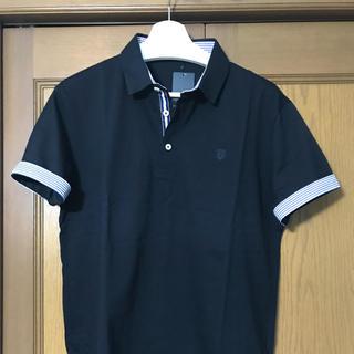 バーバリーブラックレーベル(BURBERRY BLACK LABEL)の【新品・タグ付き】ブラックレーベルクレストブリッジ ポロシャツ 半袖 サイズ1 (ポロシャツ)