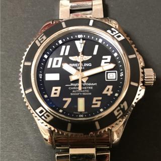ブライトリング(BREITLING)の【rgdm5様専用】ブライトリング スーパーオーシャン42  ブラック 自動巻き(腕時計(アナログ))