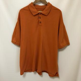 RED HEAD リンガー 無地 ビッグシルエット ポロシャツ US古着 XL(ポロシャツ)