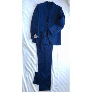 ビームス(BEAMS)のBEAMS Fオリジナル 3Bコットン春夏スーツ(紺色)(セットアップ)