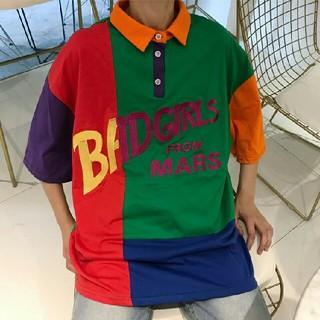 カラフルラガーシャツ ❤ dyBkh(ポロシャツ)
