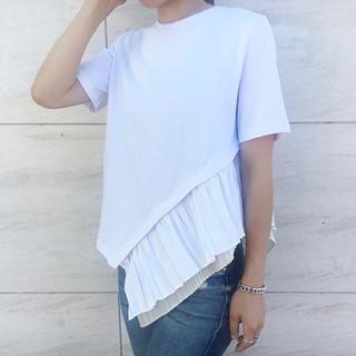 美品 エレンディークelendeek♡今期フレアTシャツ