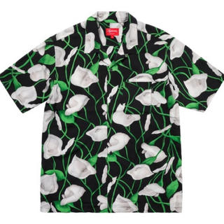 Supreme - Mサイズ Supreme Lily Rayon shirt