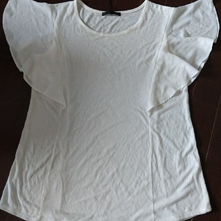 ヘザー(heather)の袖フリフリTシャツ(Tシャツ(半袖/袖なし))