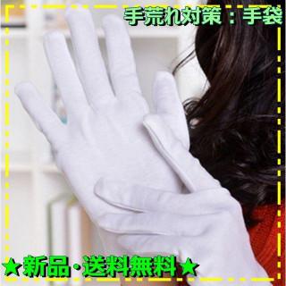 ふんわりコットン100%の手袋 12双組 Mサイズを送料無料でゲット!(手袋)