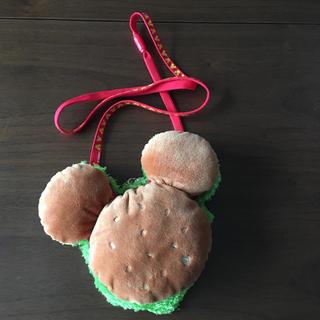 ディズニー(Disney)のDisneyミッキーマウス/ハンバーガー型パスケース(パスケース/IDカードホルダー)