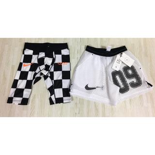 ナイキ(NIKE)のNike Offwhite soccer ショートパンツ Sサイズ(ショートパンツ)