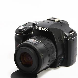 ペンタックス(PENTAX)の24h以内即日発送❤️PENTAX K-x ブラックレンズキット♪(デジタル一眼)