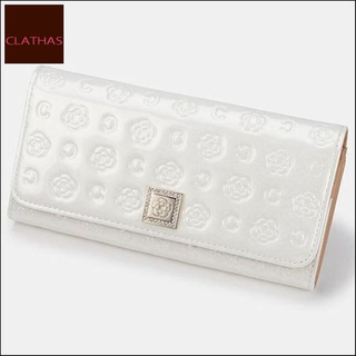 クレイサス(CLATHAS)のクレイサス 財布 白(財布)
