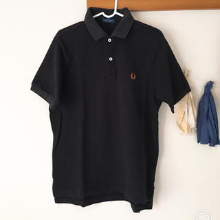 フレッドペリー(FRED PERRY)のフレッドペリー ポロシャツ 古着 ブラック(ポロシャツ)