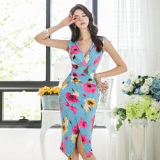 ドレス キャバ パーティ(ミディアムドレス)
