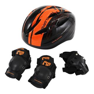 DOPPELGANGERヘルメット・プロテクター4点セット(自転車)