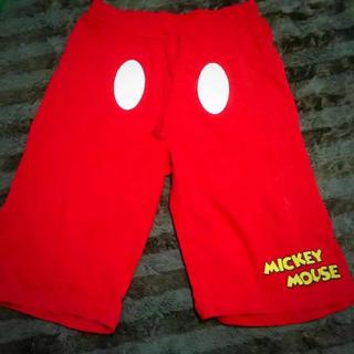 ディズニー(Disney)のミッキー 七分丈ズボン(ショートパンツ)