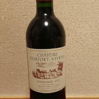 シャトー・デュルフォール・ヴィヴァン2001(ワイン)