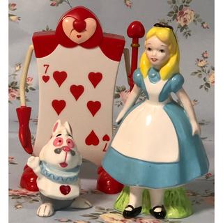 Disney - ( 美品 )Disney 不思議の国のアリス&白うさぎ・ハートのA 写真立て