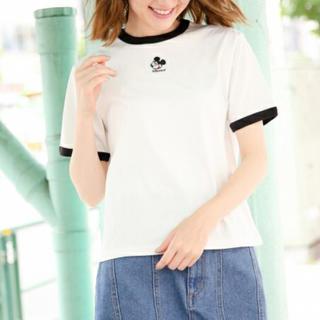 ヘザー(heather)のHeather ヘザー ミッキーTシャツ(Tシャツ(半袖/袖なし))