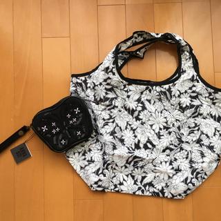 アナスイ(ANNA SUI)の新品タグ付き アナスイ ポーチ付き エコバッグ トートバッグ(エコバッグ)
