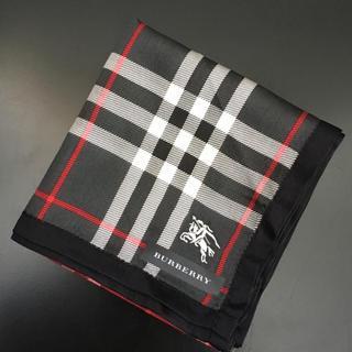 バーバリー(BURBERRY)の新品未使用 バーバリー 大判ハンカチ スカーフ ①(ハンカチ/ポケットチーフ)