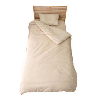 ムジルシリョウヒン(MUJI (無印良品))の布団カバー 3点セット シングル(シーツ/カバー)