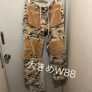 大きめW88cm!迷彩カモフラ ミリタリーカーゴパンツ 7ポケット(ワークパンツ/カーゴパンツ)