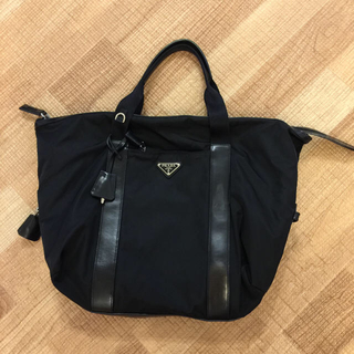 PRADA - プラダ ボストン型バッグ