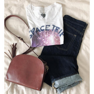 ハートマーケット(Heart Market)の宇宙柄Tシャツ(Tシャツ(半袖/袖なし))