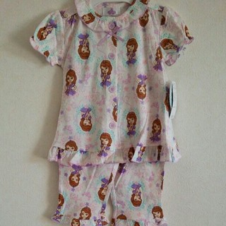 ディズニー(Disney)の新品 90㎝ ディズニー ソフィア☆パジャマ 半袖(パジャマ)