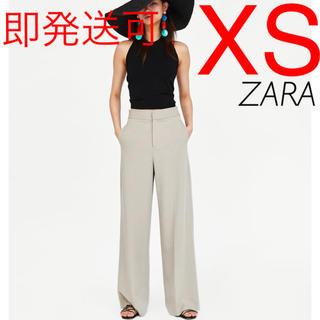 ザラ(ZARA)のZARA リネン パンツ(カジュアルパンツ)