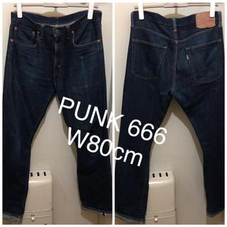 シックスシックスシックス(666)のPUNK!666 シドヴィシャス マイウェイマンデニム W80-股下78cm  (デニム/ジーンズ)