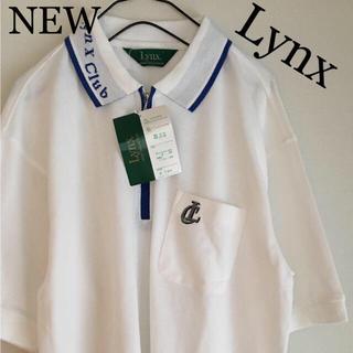 新品タグ付き Lynx ポロシャツ(ポロシャツ)