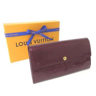 ルイヴィトン(LOUIS VUITTON)のルイヴィトン ヴィトン 長財布 財布 モノグラム  レディース 【中古】(財布)