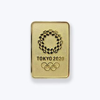 ピンバッジ(東京2020オリンピックエンブレム)