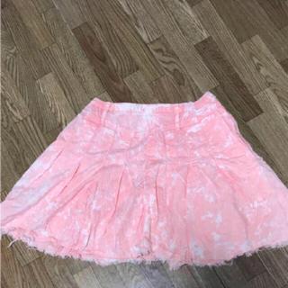 ヘザー(heather)のHeat herスカート(ひざ丈スカート)
