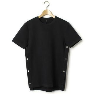 ニールバレット(NEIL BARRETT)の中古BLACKBARRETT変形ボンディングTシャツS(Tシャツ/カットソー(半袖/袖なし))