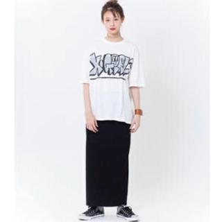 エックスガール(X-girl)のX-GIRL ロングスカート(ロングスカート)
