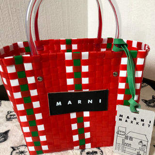 マルニ(Marni)のマルニフラワーカフェ MARNI FLOWER CAFE  ピクニックバックミニ(トートバッグ)