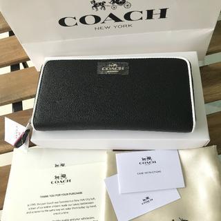 COACH - ★閉店セール COACH(コーチ) 長財布 F12585 ブラック
