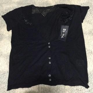 バツ(BA-TSU)のBa-tsu半袖カーディガン(シャツ/ブラウス(半袖/袖なし))
