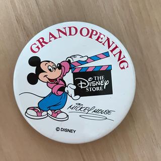 Disney - ディズニーストアオープン記念缶バッチ